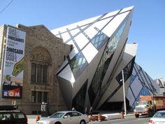 Royal Ontario Museum (Arquitetura Desconstrutivista)