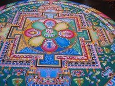 Avalokiteshvara Sand Mandala