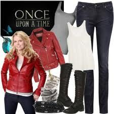 outfit inspired by Emma Swan