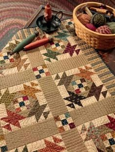 Lunch Box Social Quilt from Simple Appeal by Kim Diehl. Love these colors!