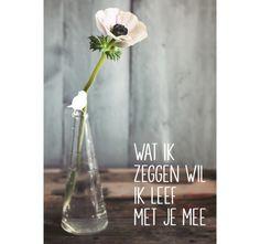 vrolijkfabriek.nl | Wat ik zeggen wil - wenskaart