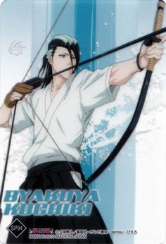Studio Pierrot, Bleach, Byakuya Kuchiki (not Quincy but. just an archer? Bleach Anime, Bleach Fanart, Bleach Characters, Manga Characters, Shinigami, Anime Guys, Manga Anime, Kuchiki Rukia, Anime Kawaii