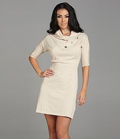 Oh, sweater dresses, I want you all.