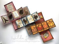 Hilda Designs: Tutorial Twist Pop Up Card / Tarjeta Desplegable, Latina Crafter, Micaela Ferrero, Sweet Card Club y Latinas Arts and Crafts