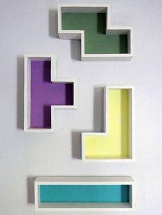 DIY Tetris Shelves | Whimseybox