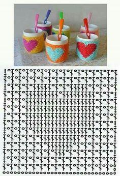 Captivating Crochet a Bodycon Dress Top Ideas. Dazzling Crochet a Bodycon Dress Top Ideas. Crochet Motifs, Crochet Diagram, Crochet Squares, Crochet Chart, Crochet Basics, Crochet Doilies, Crochet Stitches, Crochet Patterns, Crochet Mug Cozy