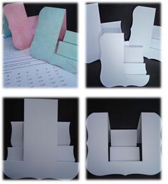 How to Make Side Stepper Cards using a SpellbindersGrand Labels Die - Complete with Printable Size Chart