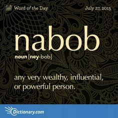"Nabob--Now I understand that one part of ""Never Had A Friend Like Me"" means!"