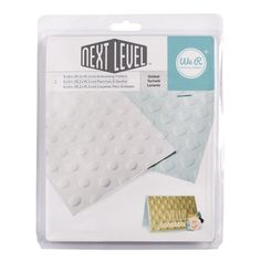 We R Memory Keepers DOTTED Next Level Embossing Folders 662677 at Simon Says STAMP!