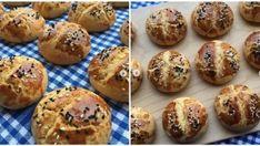 Üçgen Börek Tarifi | Sosyal Tarif Colored Cookies, Rose Cookies, Food Articles, Iftar, Baked Potato, Cookie Recipes, Bakery, Muffin, Breakfast