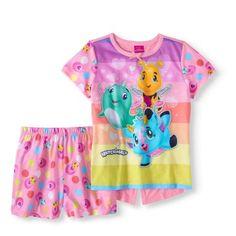 Hatchimals Girls Egg Hatching 2-Piece Toddler Pajama Short Set