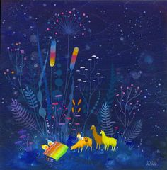 Dreaming Together Limited Edition Print by apak