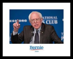 BERNIE SANDERS 8x10 Photo Print 2020 Presidential Campaign DNC Feel the Bern   | eBay