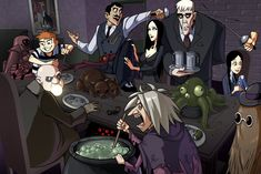 Supernormal Step Tumbles • Addams by *zet for Halloween, the Addams Family....