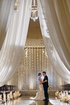 15 Gorgeous Aisles to Inspire | http://thebridaldetective.com/style-the-aisle-incredible-indoor-ceremonies-part-ii/