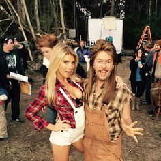 """On set today for #joedirt2"""