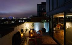 Night and Day Bermondsey apartment - terrace