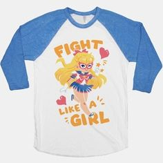 Fight like a girl, just like Sailor V! The very first sailor scout of love and justice, adorable kawaii cute Sailor V is here to kick your butt and look adorable doing it. Don't let the patriarchy get you down, if 90s magical girl anime taught you anything, it's that you can be a girl, and you can still be tough and totally badass! Rock your fandom, feminist-style!