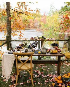 Wow! How amazing is this! I get all the Fall feelings and it makes my heart happy! We serve an awesome creator! It was shared by my sweet friend Krista @lilk_and_me and belongs to @lev_vackert  It's my pick for #makesmesmilethursday  Your hosts: Judy @lifeisbetterathome  Karan @designsbykaran  Sara @sahanson  Cindi @cindimc.ivoryhome  Have a blessed weekend friends and get out and enjoy Gods beauty!! • • • #fallintoautumn #earthinspiredhome #mybhg #falldecor #naturetouchtuesday…