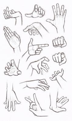 Copy's and Studies: Hands by WonderingMind23.deviantart.com on @DeviantArt