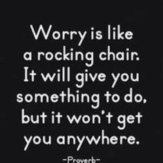 proverbe anxiété