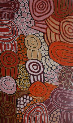 Here is another fine piece of Aboriginal Art by Debra Young Nakamarra / Women's Ceremony is the title of the work. Click the painting To view more details and lots more incredible artworks from these amazingly talented artists Thanks for viewing and have a great day!