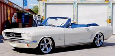 1965 ford mustang convertible resto-mod on hot cars