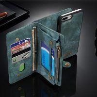 Caseme Zipper Wallet Magnetic Detachable Case For iPhone 7 Plus Apple Watch Accessories, Ipad Accessories, Wearable Device, Leather Case, Leather Wallet, Plus 8, St Kitts And Nevis, Uganda, Mobiles