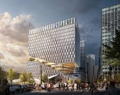OMA to design mixed-used building for bostons seaport district