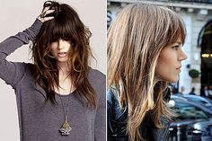 Shag hairstyles are very popular right now. Whether you're opting for a shaggy bob, or shaggy long hair, you'll enjoy these 26 photos of the best ones.: The Best Shag Bangs on Pinterest