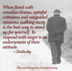 Something to remember when dealing with difficult people