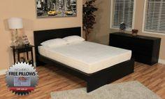 DreamFoam Bedding 8-Inch Memory Foam Bed : Kottke says it's awesome