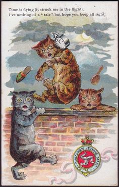 Early Manx Cat Postcards