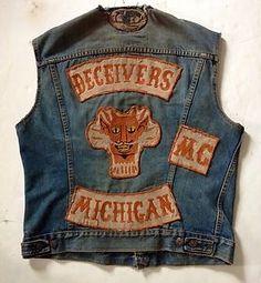 Vintage Motorcycle Club Cuts