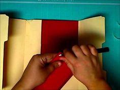 Lapbook tutorial December Daily 2012 - Part 3 Neat idea! Mini Albums, Mini Scrapbook Albums, Scrapbook Paper Crafts, Scrapbook Cards, Paper Crafting, Scrapbooking, Mini Books, Lap Books, Mini Album Tutorial