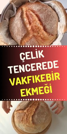 Trabzon Vakfıkebir Bread in a Steel Pot Tasty, Yummy Food, How To Make Bread, Bread Baking, Baked Potato, Food And Drink, Cooking Recipes, Ethnic Recipes, Steel
