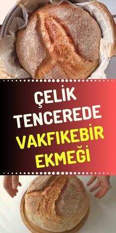 Trabzon Vakfıkebir Bread in a Steel Pot Tasty, Yummy Food, Bread Baking, Food And Drink, Cooking, Ethnic Recipes, Steel, Corona, Kitchens