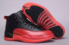 2018 Discount Unisex Air Jordan XII 12 Varsity Red Black