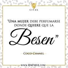 #Chanel #quote #cita #kiss #beso