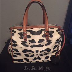 L.A.M.B Tote Never worn before! Still looks brand new. Dust bag included. No stains or scratches. L.A.M.B. Bags Totes