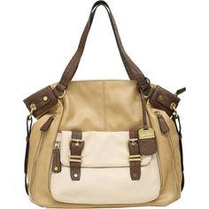 Jessica Simpson Jett Tote Bag (Camel Multi) - Handbag
