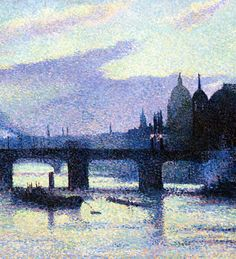 by Maximilien Luce (French 1858-1941)....London??