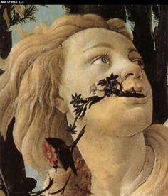 Botticelli - Spring (Primavera) c.1482 Tempera on panel 203 x 314 cm Uffizi, Florence