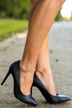 Basically Perfect Heels-Black
