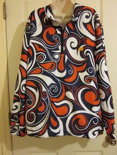NWT Loudmouth Splash USA Half Zip Long Sleeve Shirt sz. L Large Red White Blue #Loudmouth