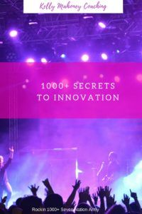 1000+ Secrets to Innovation, Rockin 100+ Seven Nations Army. What is Innovation, Creativity and Trailblazing on The Wednesday Sountdrack | Kelly-Mahoney.com