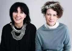 Pamela Easton and Lydia Pearson / Easton Pearson | thefashionarchives.org