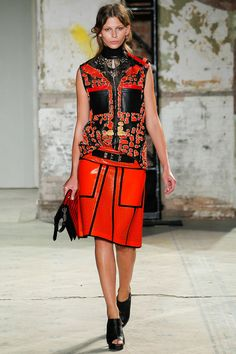 bd158971c4 look 11 - Proenza Schouler Spring 2013 Ready-to-Wear Collection Slideshow  on Style