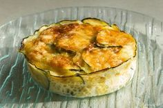 Gratin courgettes pommes de terre et jambon Side Recipes, Kitchen Art, Flan, No Cook Meals, Macarons, Entrees, Food To Make, Food Porn, Food And Drink