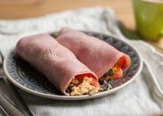 Paleo ontbijt burrito van ham - Paleo Recepten.nl